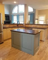 duck egg blue kitchen cabinet paint a duck egg blue island compliments the painted cabinet