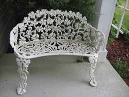 Wrought Iron Benches For Sale 22 Best Antique Garden Furniture Images On Pinterest Garden