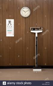 retro wood paneling retro doctor s office with wood paneling clock eye chart and scale