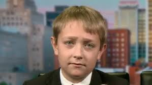 11 years old that has highlights at the bottom of their hair young pence questioner full on the trump caign cnn video