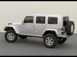 starwood motors jeep white jeep wrangler rubicon unlimited in white with matching side panels
