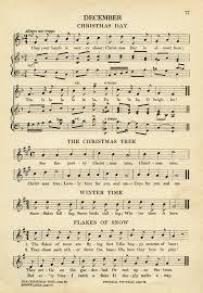 christmas sheet music old design shop blog