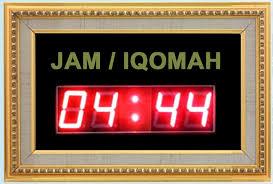 membuat jam digital led besar jam digital masjid daftar harga jual jadwal sholat digital murah