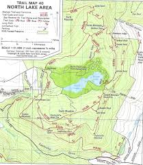 Worlds End State Park Map by Escarpment Trail