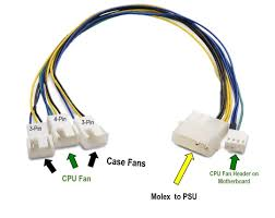 cpu fan 4 pin to 3 pin cable matters 2 pack 6 pin pcie to 8 pin pcie adapter power cable