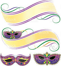 mardi gras banner mardi gras mask banners stock vector more images of