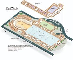 fort worth convention center floor plan and 3d tour