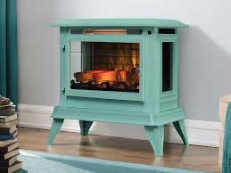 Electric Fireplace Stove Duraflame 3d Blue Infragen Electric Fireplace Stove W Remote