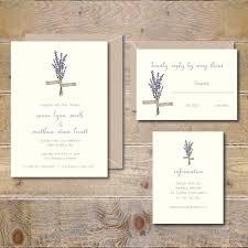 lavendar wedding invitations lavendar flowers floral garden