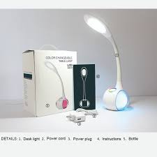Desk Lamp With Dimmer Switch Aliexpress Com Buy Touch Dimmer Switch Flexible Book Reading Led