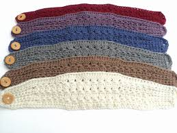 crochet headband crochet pattern stitch wide headband pattern and