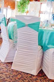 chagne chair sashes decor royal blue and white flowers wedding decorations tremendous