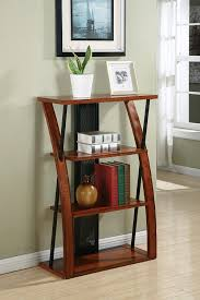 Bookshelf Organization Amazon Com Office Star Aurora 3 Shelf Bookcase In Medium Oak