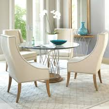 round glass dining table with wood legs rio round glass dining