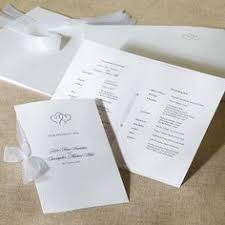 sle of wedding reception program wedding ceremony bulletins more you will help your sle wedding