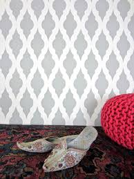 Moroccan Pattern Art Moroccan Wall by How To Stencil A Modern Moroccan Wall Pattern Stencil Stories
