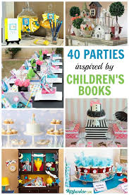 40 popular childrens book birthday parties tip junkie