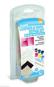 Leather Sofa Rip Repair Kit by Leather And Vinyl Repair Kit Fix Rips Burns Furniture Holes Car