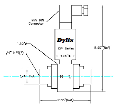 dp series differential pressure transmitter dylix corporation