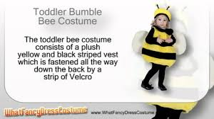 Bumble Bee Halloween Costume Toddler Bumble Bee Costume