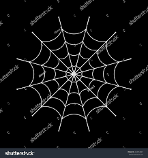 halloween clipart black background spider web clip white cobweb element stock vector 454054867