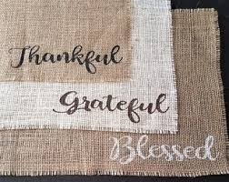 thankful placemats rustic placemats etsy