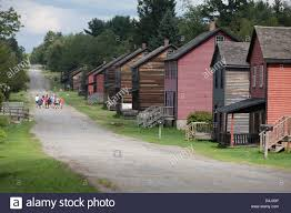 rows of homes historic eckley miners village museum weatherly