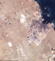 Doha Qatar Map Doha Qatar Image Of The Week Earth Watching