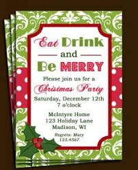 templates for xmas invitations free printable christmas open house invitation templates holiday