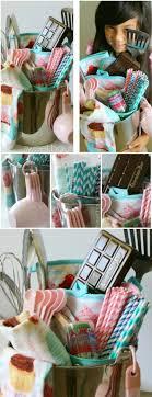 baking gift basket baking diy gift basket idea sweethaute