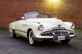 1949 buick roadmaster convertible red 1 32 diecast model car by
