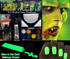 glow in the makeup glow in the horror makeup kit