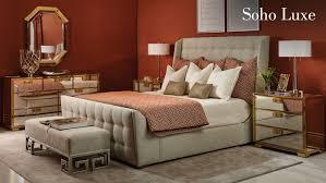 soho luxe bedroom items bernhardt