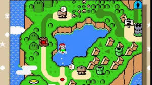 Super Mario World Map by 007 Snes Super Mario World Vanilla Dome 1 Secret Video