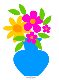 Flowers In Vases Images Flower Vases With Flowers Clipart Collection