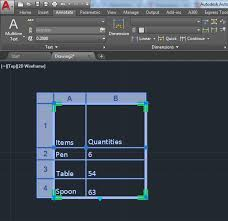 autocad tutorial with exle how to insert excel data into autocad tutorial45