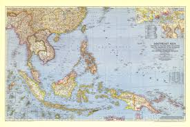 Southeastern Asia Map by Southeast Asia And The Pacific Islands Map 1944 Maps Com