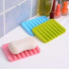 Bathroom Accessories Stores by Aliexpress Com Buy 2pcs Silicone Drain Soap Dish Soap Holder