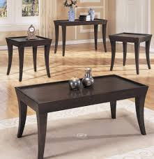coffee table homelegance zen 3 piece occasional tables set in