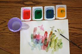 homemade watercolors i can teach my child