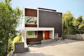 Modern Backyard Modern Backyard House By Shed Freshome Com
