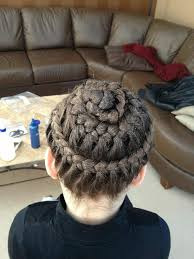 gymnastics picture hair style everythingpretty braided brooklyn law s hair for a gymnastics