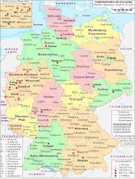 map of deutschland germany map of deutschland germany major tourist attractions maps