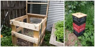 6 simple diy compost bins diy thought