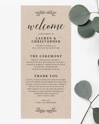 modern wedding program green wedding seating chart templates eucalyptus branch