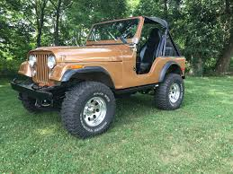 cj jeep lifted old man emu yj springs in a cj rear installation jeepfan com