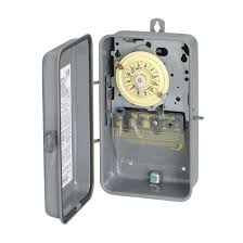 intermatic t101r spst 24hr 40a 2hp timer 125v outdoor enclosure