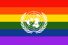 Yellow And White Flag Us Voted No To Condemning Death Penalty For Homosexuality Gcn