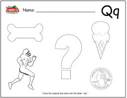 letter q activities preschool lesson plans