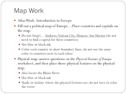 europe geography honors ppt video online download